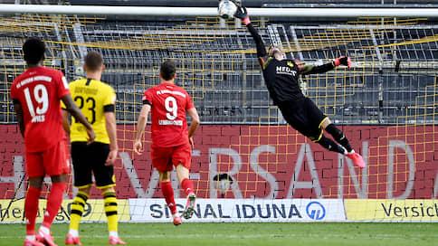 «Бавария» улетела на парашюте  / После ее победы над «Боруссией» судьба первого места почти решена