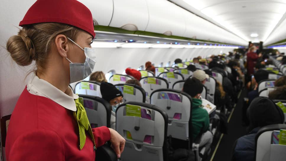 Сбыча мест / Авиакомпаниям разрешили полностью заполнять пассажирами салоны самолетов