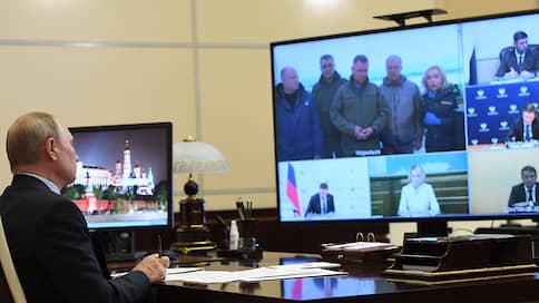 За солярным кругом  / Владимир Путин в третий раз пытался выяснить, кто виноват в разливе дизтоплива под Норильском