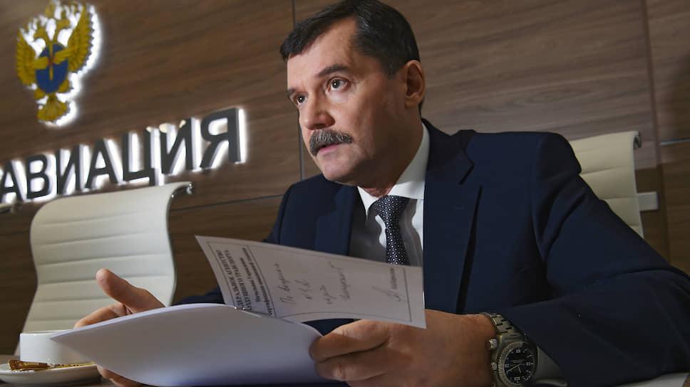 Замминистра транспорта, руководитель Росавиации Александр Нерадько