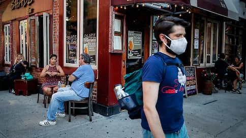 Дональд Трамп идет на второй пик  / Возвращение свободы баров и митингов в США вернуло свободу коронавирусу