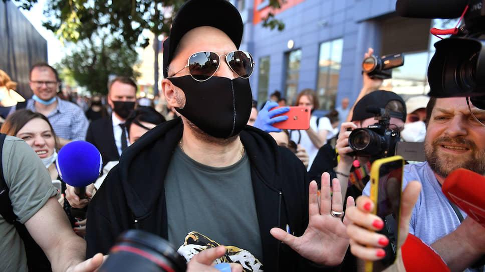 У обвинения похитили срок / Кирилл Серебренников недоволен условным приговором