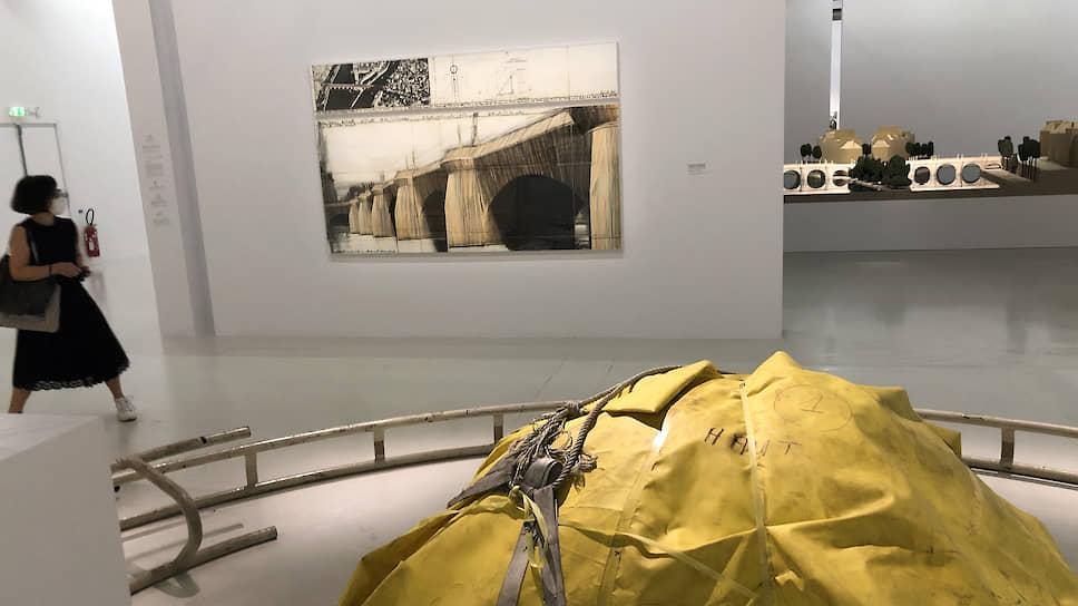 Художественная акция по упаковке парижского Пон-Нёф готовилась Кристо и Жанной-Клод по всем правилам военного искусства, инженерии и дипломатии