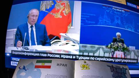 Говорит и показывает Астанкино  / Как президенты Ирана, России и Турции встретились в безвоздушном пространстве