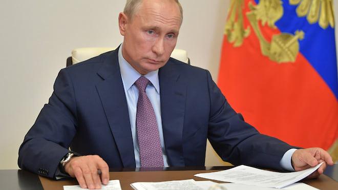 Всем спасибо, все стабильны  / Владимир Путин поблагодарил всех проголосовавших за. Поправка: и всех проголосовавших против — тоже