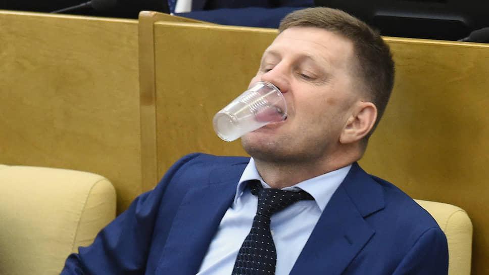 Сергей Фургал готовился испить чашу ответственности, еще будучи депутатом Государственной думы