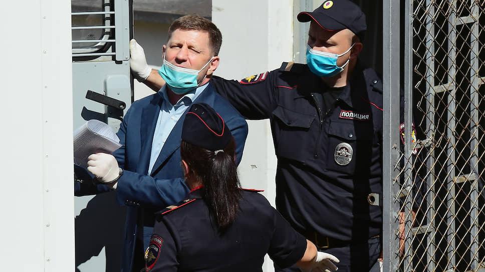 Обвинение хуже губернаторского / Сергея Фургала арестовали в Москве