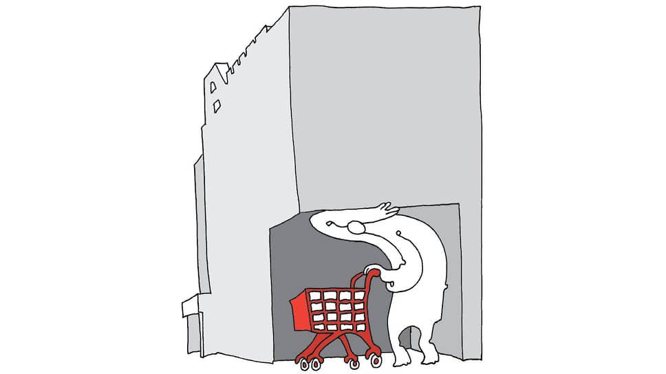 Торгцентры проторговались