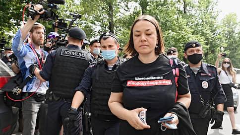 Ивану Сафронову подставили грудь и спину // У СИЗО в Лефортово прошли задержания журналистов, поддержавших обвиненного в госизмене коллегу