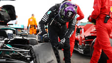 Трехколесная формула  / Прокол резины не помешал Льюису Хэмилтону выиграть Гран-при Великобритании