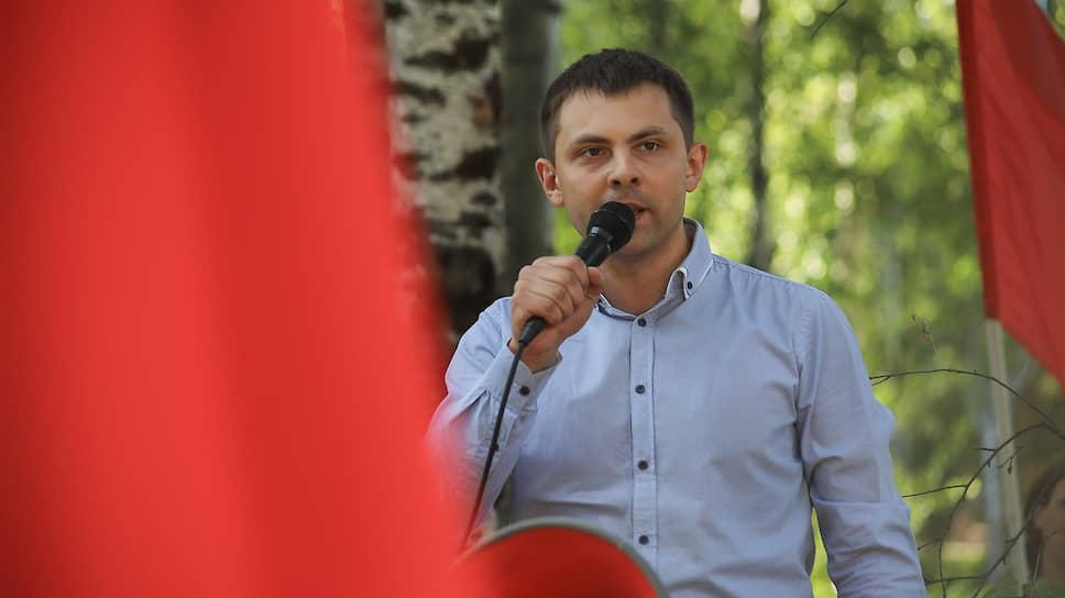 Депутат парламента Коми, первый секретарь республиканского комитета КПРФ Олег Михайлов
