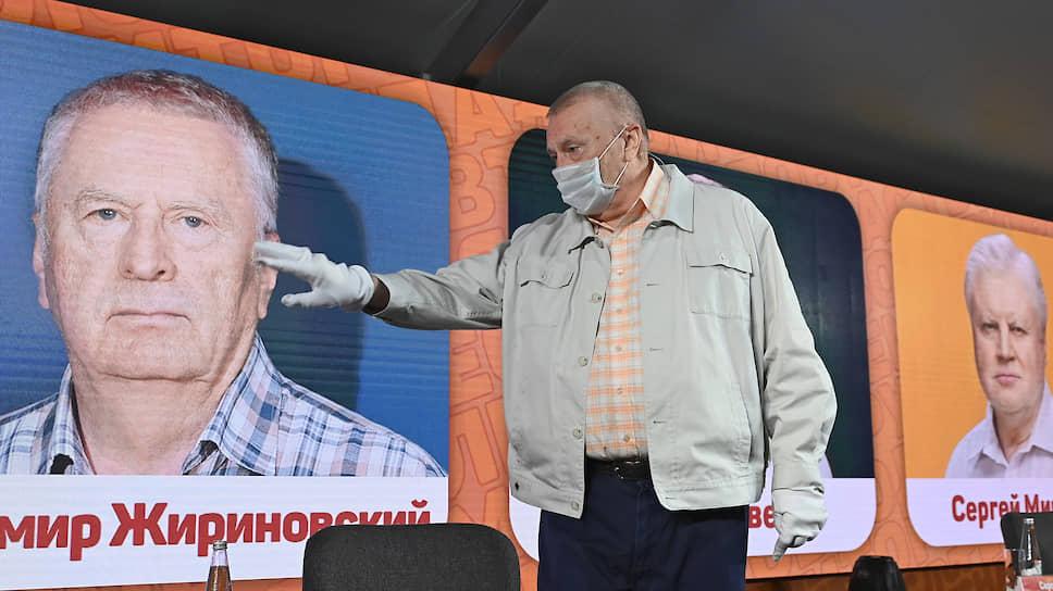 Владимир Жириновский стал единственным из партийных лидеров, кто разглядел в муниципальном фильтре больше плюсов, чем минусов
