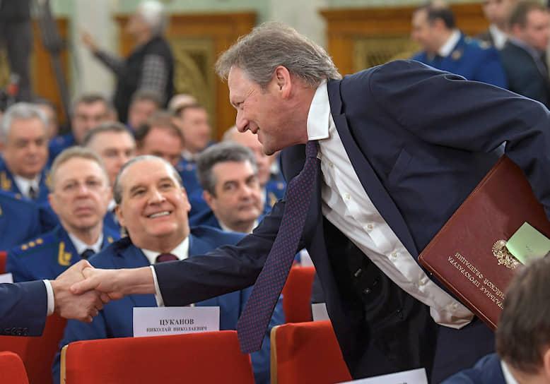 Борис Титов доволен поддержкой прокуратуры в вопросах защиты бизнеса