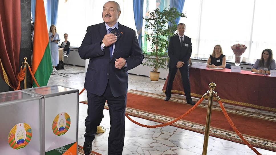 Республика Белагрусть / Выборы президента прошли в лучших белорусских традициях