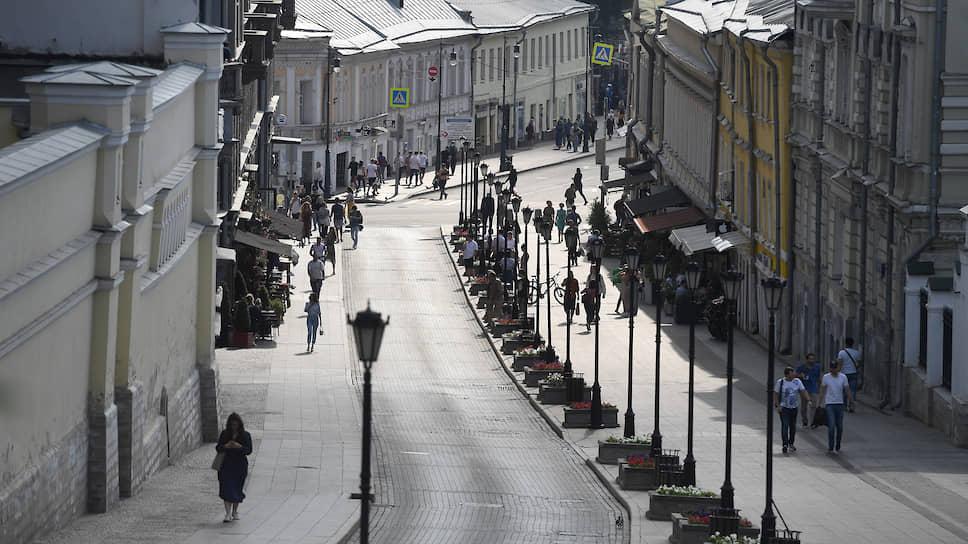 Исторические здания на Ивановской горке в районе Хохловского и Колпачного переулков, которые готовятся к сносу