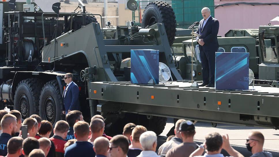 Тягачевское восстание / Александр Лукашенко не на тех наехал