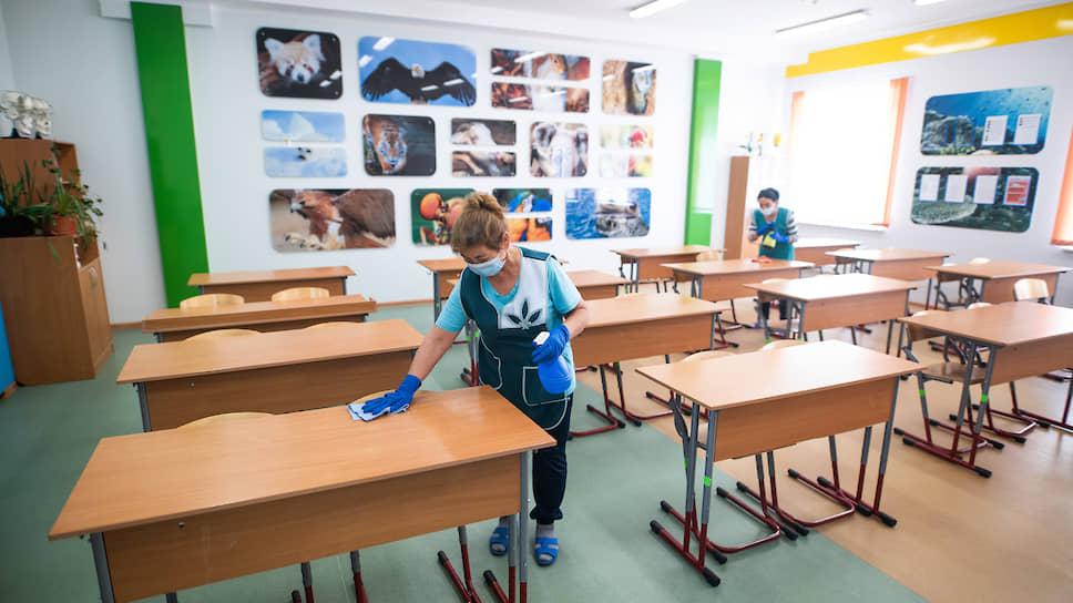 Как школы и ВУЗы готовились к началу учебного года