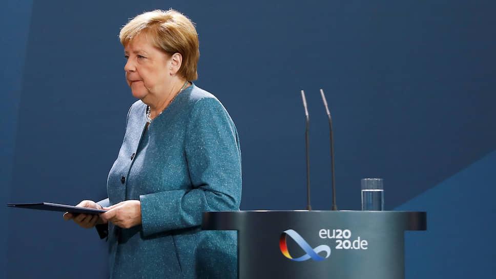 Мало кто сомневается, что «общая реакция» партнеров Германии по НАТО и ЕС, о которой упомянула в своем выступлении канцлер Германии Ангела Меркель, означает введение санкций против России. Неясным остается лишь их масштаб