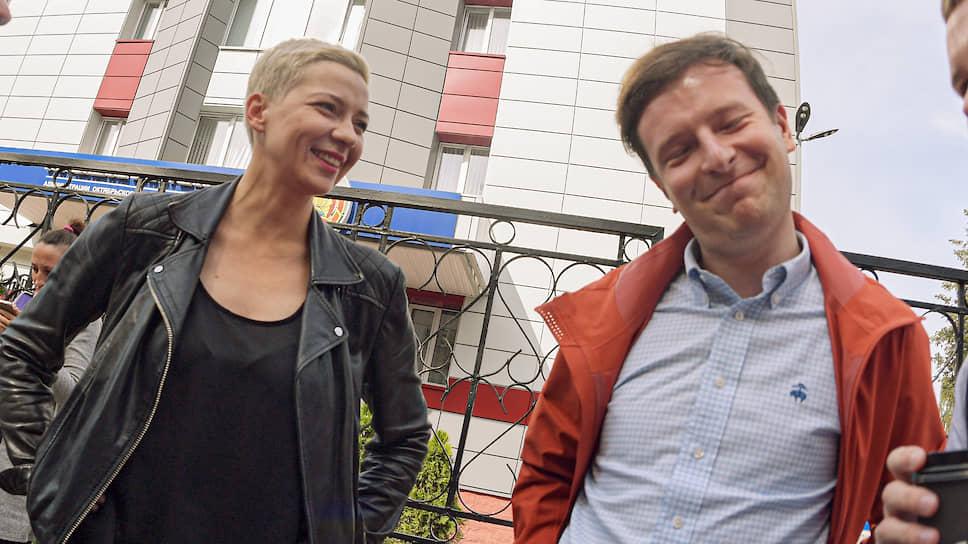 Мария Колесникова и Антон Родненков поддерживали задержанных журналистов, пока не пропали