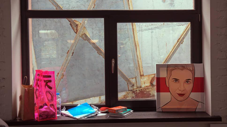 В штабе остался портрет Марии Колесниковой