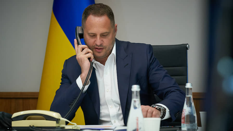 Руководитель офиса президента Украины Андрей Ермак