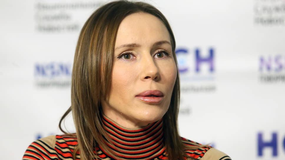 Гражданская жена бывшего полковника МВД Дмитрия Захарченко Марина Семынина