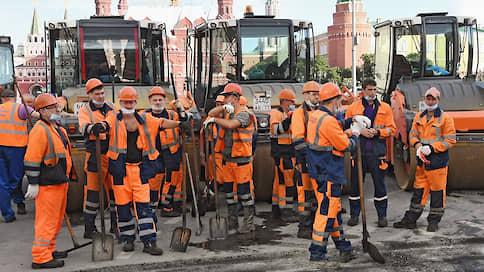 От московского благоустройства вирус оставил только четверть  / В столичной мэрии ремонтируют лишь 1,5тыс. объектов