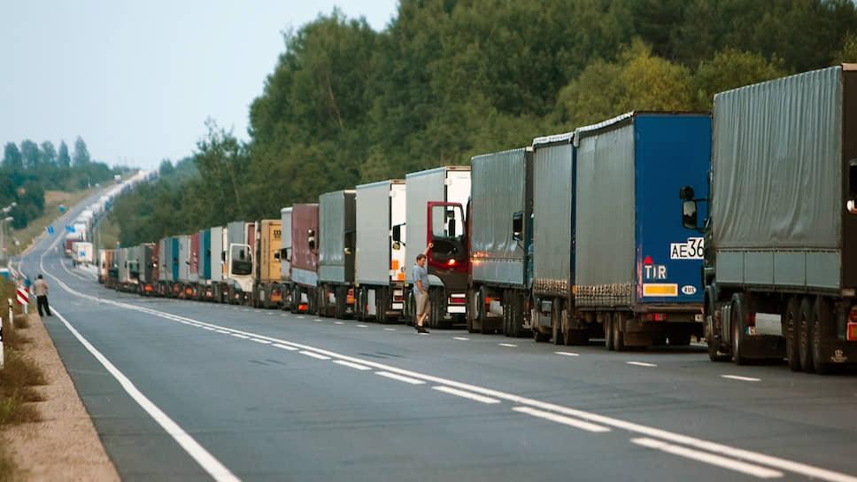 Белорусский транзит тормозит