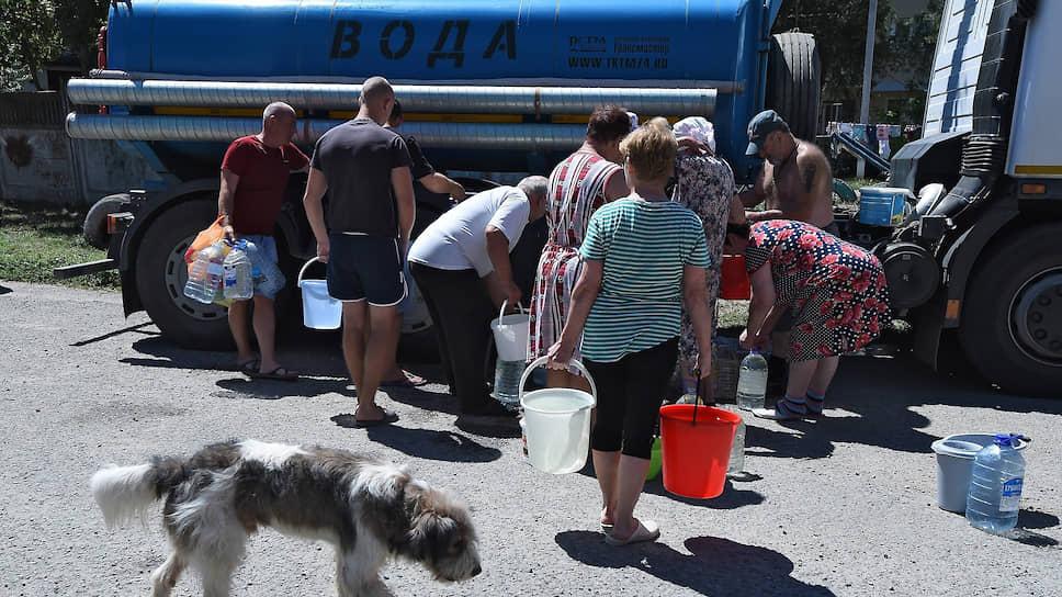 Проблема водоснабжения Крыма потребовала от Минэкономики разработки системных планов поиска воды на полуострове