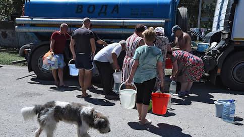 Правительство ищет воду для Крыма  / Федеральный центр подготовит проект водоснабжения полуострова