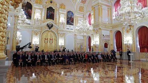 Палата в Кремль пришла  / Как Владимир Путин встретился с большим количеством людей