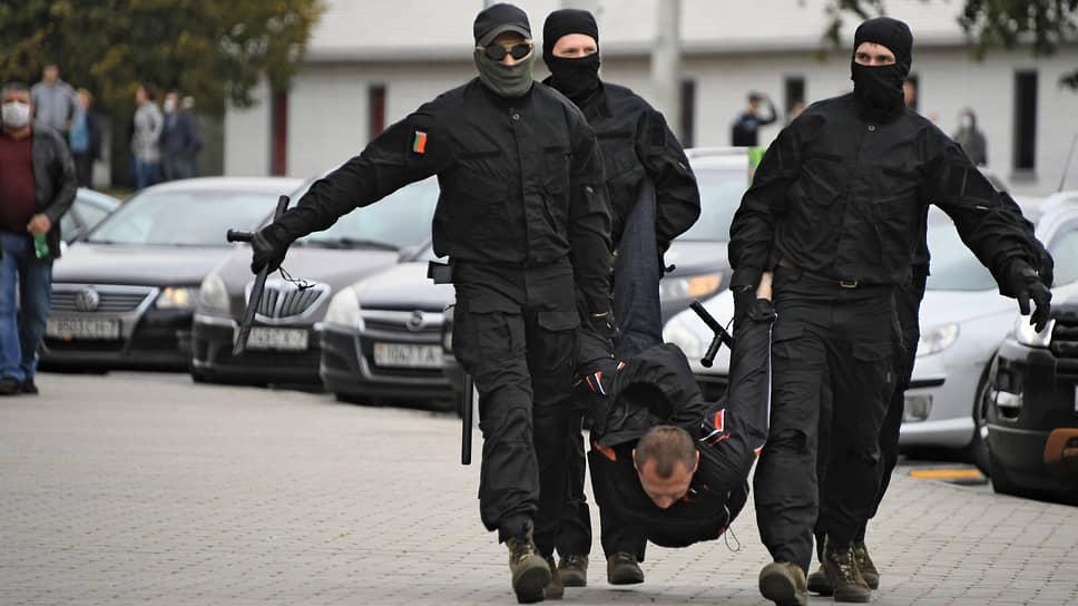 Белорусский протест перешел МКАД