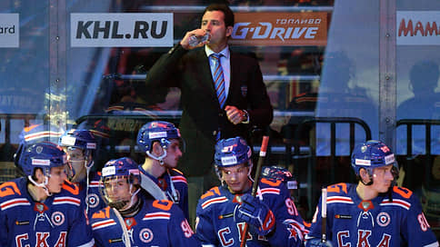 СКА выиграл с четвертого тренера  / Петербургский клуб победил впервые после вспышки коронавируса