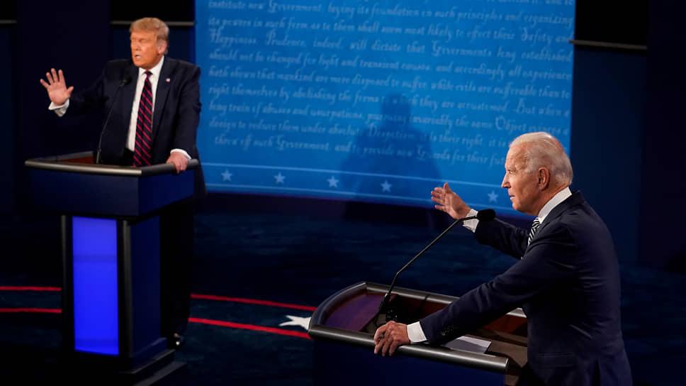На дебатах с Дональдом Трампом Джо Байден вовсе не выглядел как слабоумный старик — он оказался вполне бойким оппонентом, умеющим не только дать отпор, но и пойти в наступление