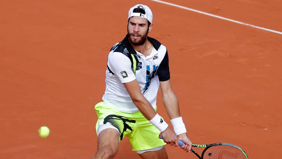 Выйдя в третий круг Roland Garros, Карен Хачанов повторил результат, который уже показывал в этом году на открытых чемпионатах Австралии и США