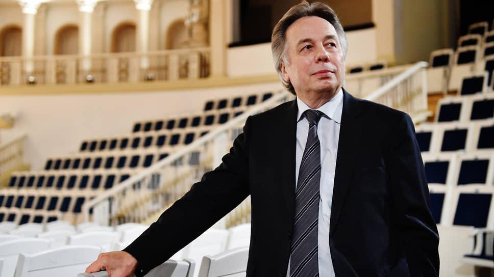 Генеральный директор Московской филармонии Алексей Шалашов