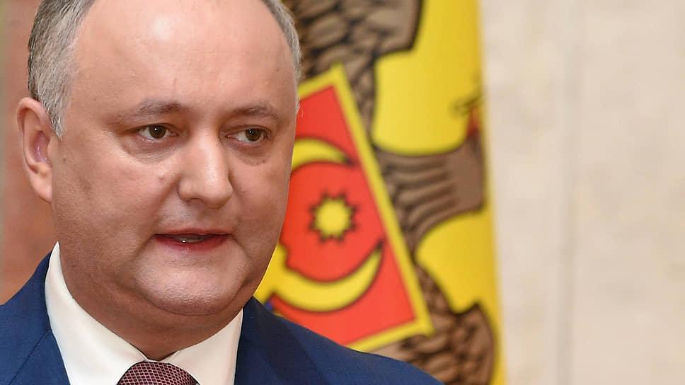 Президент республики Игорь Додон — об отношениях с Россией и прочих своих достижениях на посту
