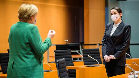 Встреча на завышенном уровне  / Светлана Тихановская увиделась с Ангелой Меркель и мечтает пообщаться с Владимиром Путиным