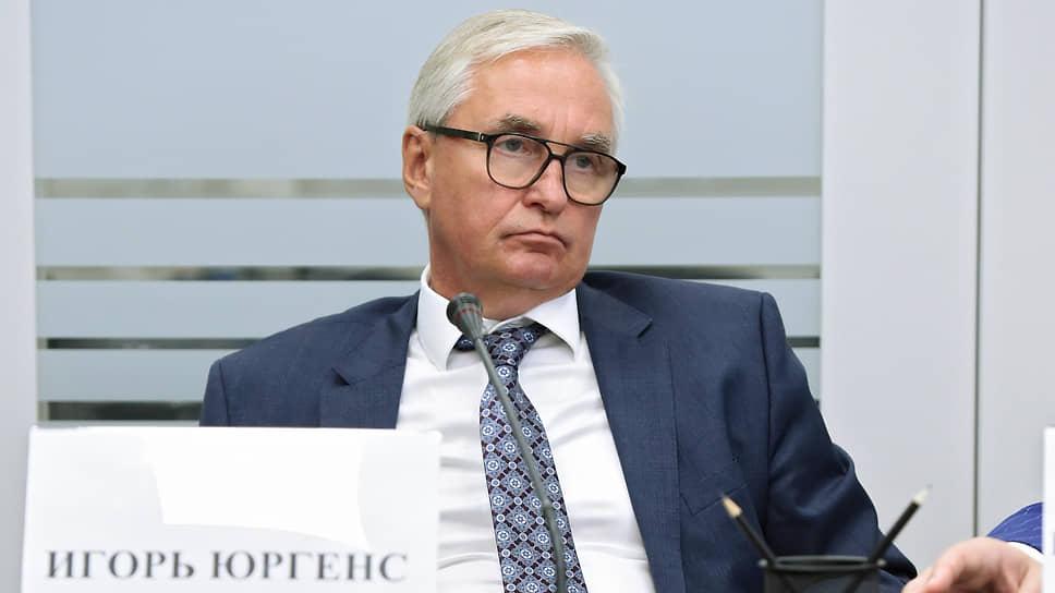 У коллег главы ВСС Игоря Юргенса, специализирующихся на медстраховании, отбирают полбюджета на ведение дел в системе ОМС