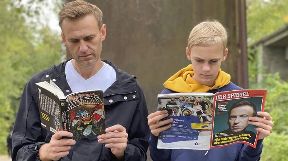 Алексей Навальный и его семья рассчитывают вскоре отложить германскую прессу и вернуться в Россию