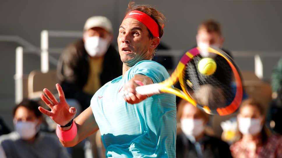 Победа, одержанная в полуфинале над Диего Шварцманом, стала для Рафаэля Надаля (на фото) 99-й за 16 лет его выступлений на Открытом чемпионате Франции
