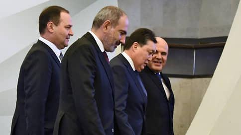 Премьеры стран «пятерки» собрались вчетвером  / Ереван принял межправсовет ЕАЭС