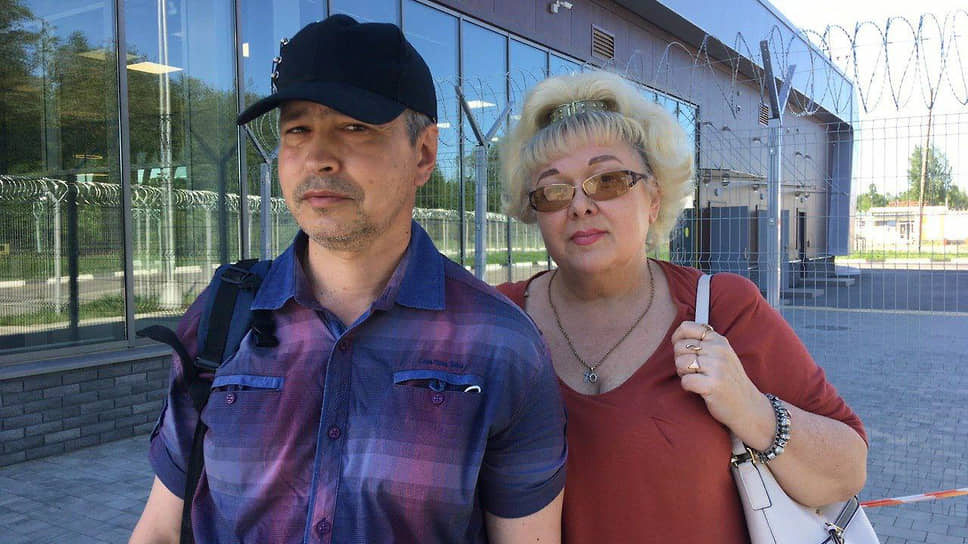 Алексей Новиков и его жена Ольга Барышева