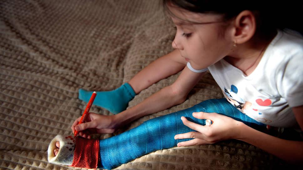 Марина родилась с переломанными ребрами: три сломались при рождении и еще пять — внутриутробно
