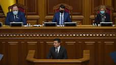 Обращение к Киеву и миру  / Владимир Зеленский отчитался в Верховной раде о проделанной работе