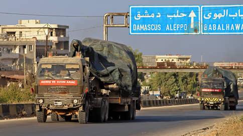 Анкара отступает, но не сдается  / Турция затеяла перегруппировку в Сирии