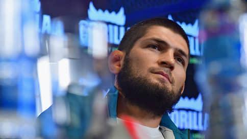 Хабиб Нурмагомедов замахнулся на Жоржа Сен-Пьера  / Российский боец думает о поединке с легендой MMA