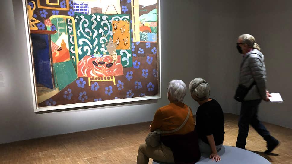 Даже без участия хрестоматийных работ из российских музеев показ Матисса во всей его красочности вышел праздником