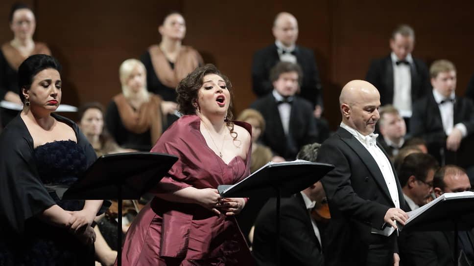 Нынешняя концертная версия оперы демонстрирует предварительные вокальные результаты