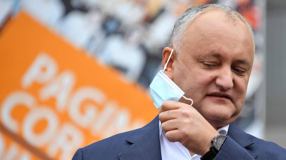 Игорь Додон зажигает Молдавию